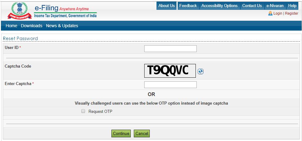 Provide user id