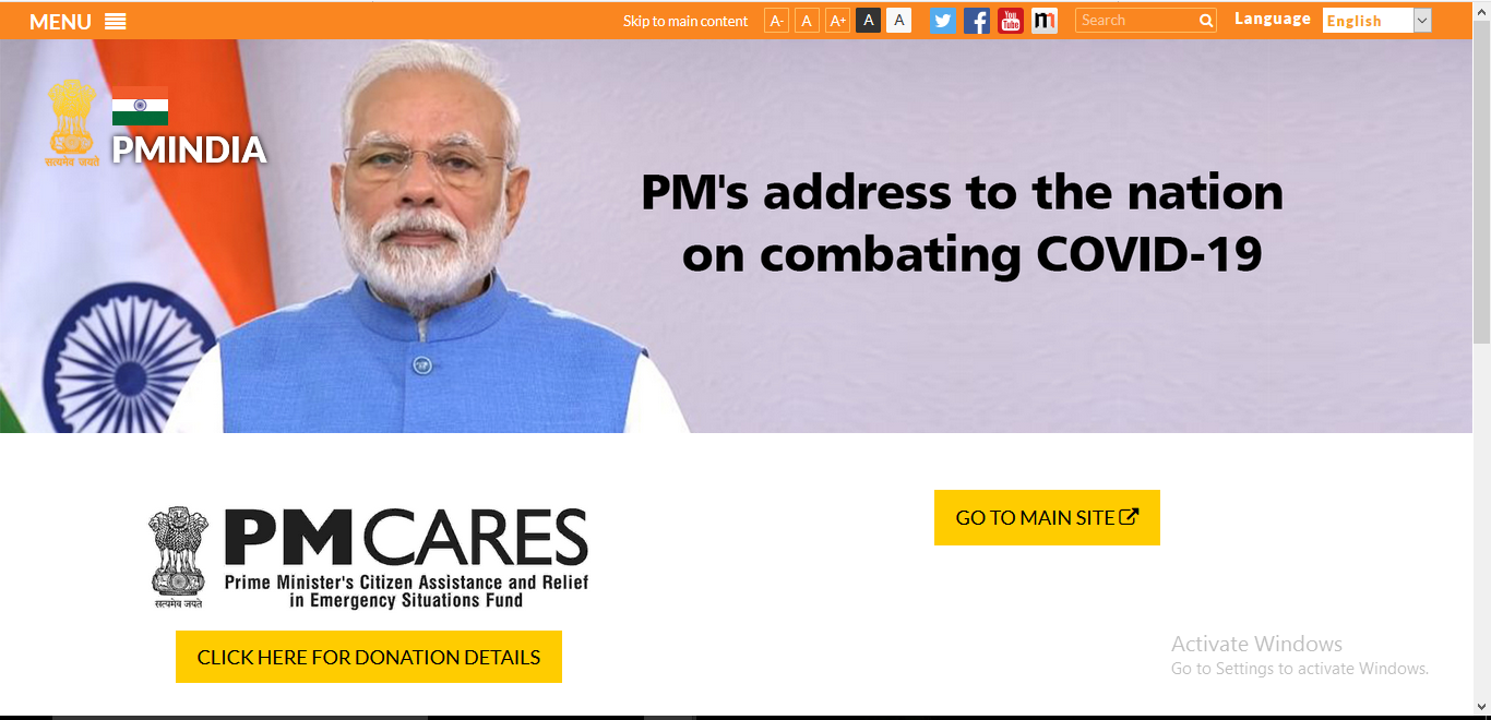 How To Make A Contribution To The PM-CARES Fund?