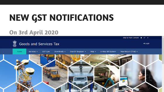 All New GST Notifications